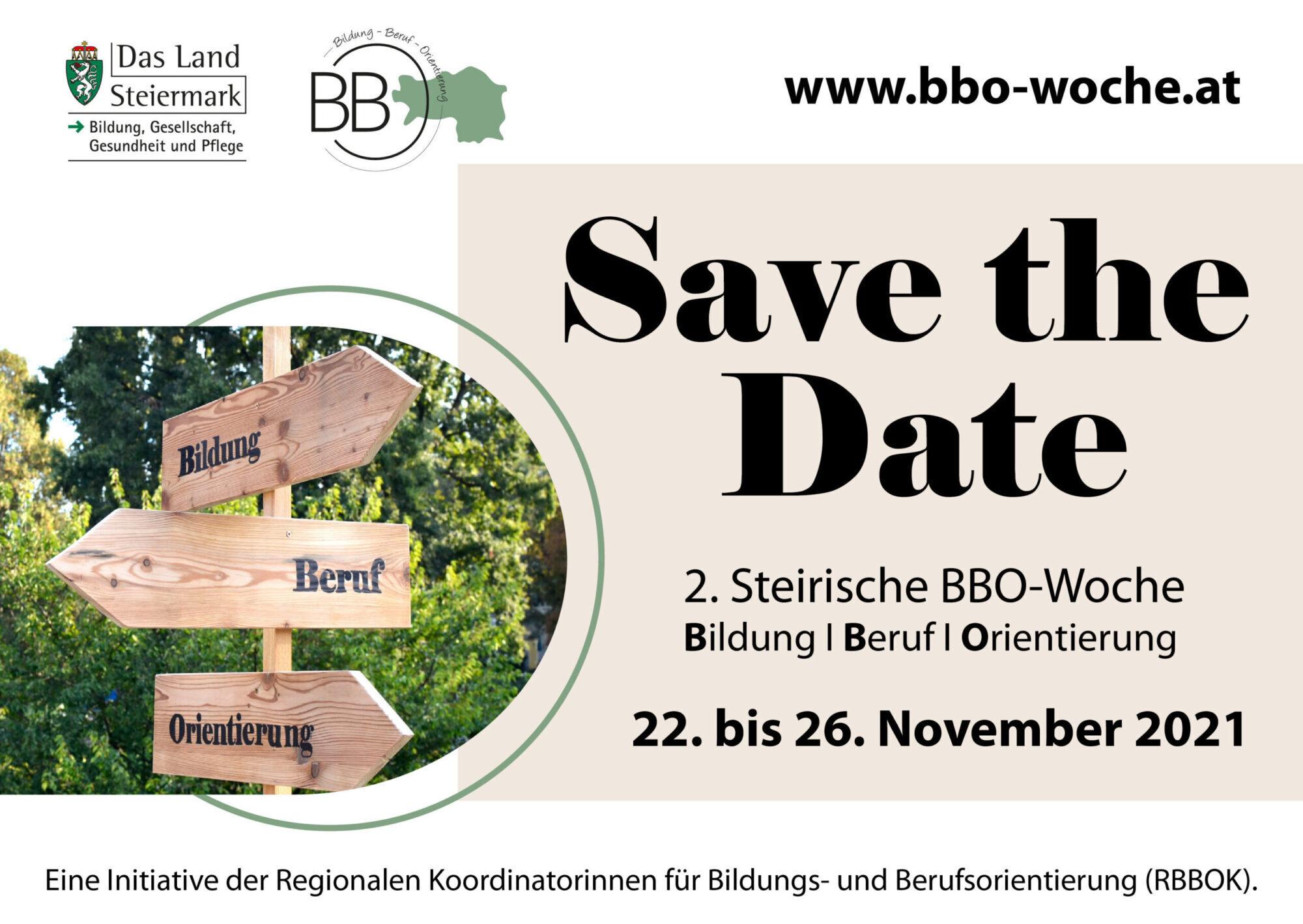 Steiermarkweite Aktionswoche zum Thema: Bildung – Beruf – Orientierung